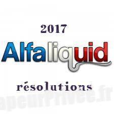bonnes résolutions année 2017